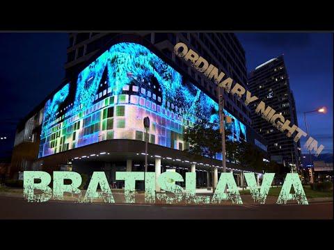 Ordinary Night In BRATISLAVA / Streed video