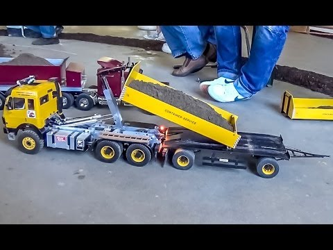 RC Container Truck and Trailer ACTION! - UCZQRVHvPaV4DRn3tp8qrh7A
