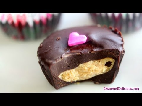 Dark Chocolate Peanut Butter Cups for Valentine's Day! - UCj0V0aG4LcdHmdPJ7aTtSCQ
