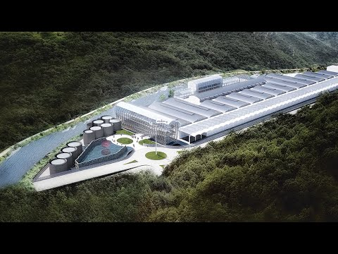 aMDL's proposal to build S.Pellegrino's new home