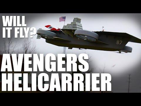 Will it Fly? - Avengers Helicarrier | Flite Test - UC9zTuyWffK9ckEz1216noAw