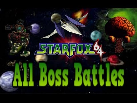 starfox 64 gameplay