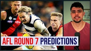 AFL Round 7 Predictions | 2019