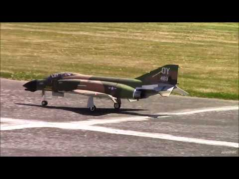 Freewing F-4D Phantom II EDF 90mm Flight at BellairRCFlyers Warbirds Over Whatcom - UCLqx43LM26ksQ_THrEZ7AcQ