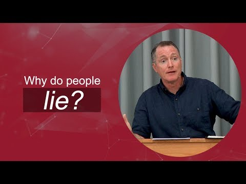 Why Do People Lie? They Love Themselves