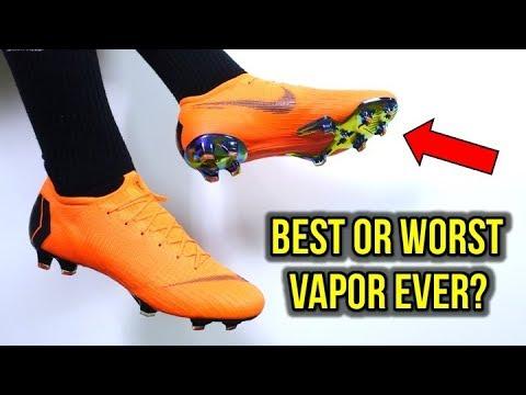 DID THEY SCREW UP THE VAPOR? - Nike Mercurial Vapor 12 Elite - Review + On Feet - UCUU3lMXc6iDrQw4eZen8COQ