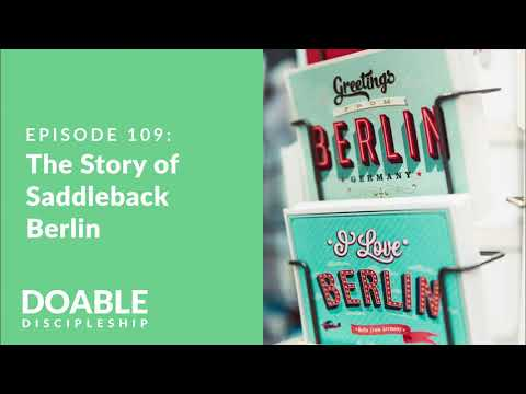 E109 The Story of Saddleback Berlin with Dave Schnitter