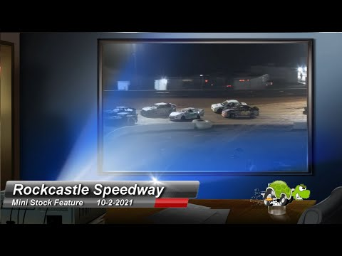 Rockcastle Speedway - Mini-Stock Feature - 10/2/2021 - dirt track racing video image