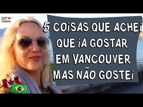 5 COISAS QUE ACHEI QUE IA GOSTAR EM VANCOUVER
