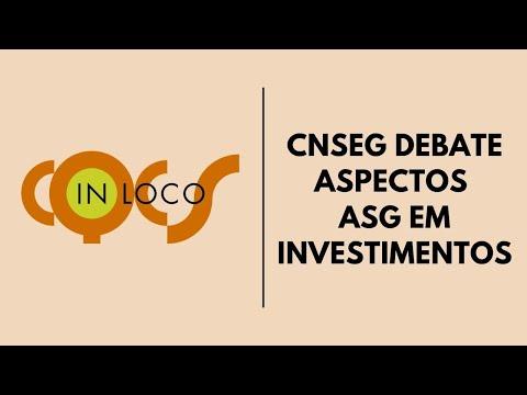 Imagem post: CNseg debate aspectos  ASG em investimentos