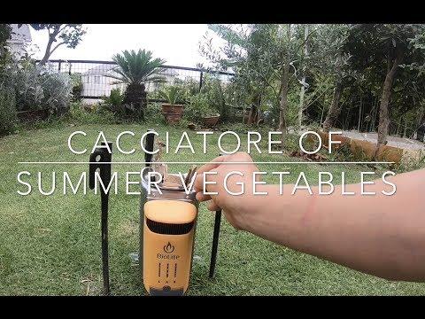 BioLite Campstove 2 Cacciatore of Summer Vegetables