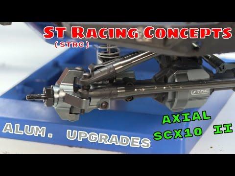 Axial SCX10 II - STRC Aluminum Upgrades Installation & Overview - UCbLNfNwmSqDOPwYARoZS2qQ