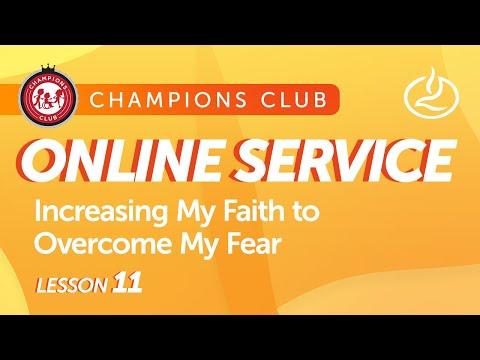 Champions Club Online Service  Week 11