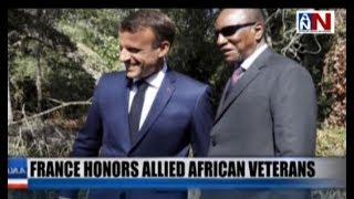 France Honors Allied African Veterans / ANN News Brief 10AM / August 16, 2019