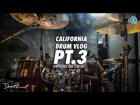 California Drum Vlog Pt  3/3 // Conference and Concert! // Simply Worship 2019