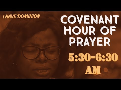 DOMI STREAM: COVENANT HOUR OF PRAYER   12TH SEPTEMBER , 2019