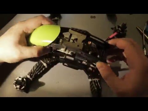 Квадрокоптер Robocat 270: Монтаж контроллера и окончательная сборка рамы - UC03fFI3C4ExvEoRCCKbX8HA