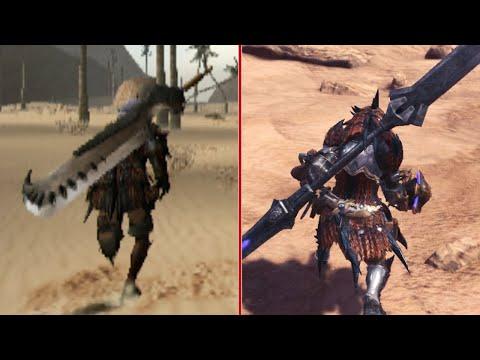 Monster Hunter (2004) vs Monster Hunter World (2018) Graphics Comparison - UCKy1dAqELo0zrOtPkf0eTMw