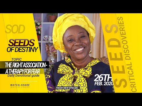 Dr Becky Paul-Enenche - SEEDS OF DESTINY - WEDNESDAY 26TH FEBRUARY, 2020