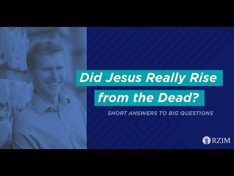 22. Did Jesus Really Rise from the Dead?