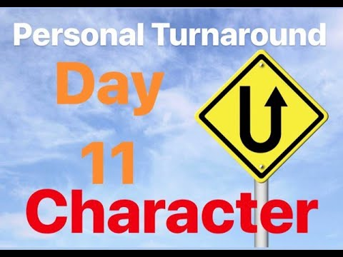 Personal Turnaround Series - Day 11: Character