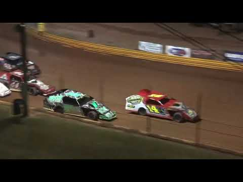 Open Wheel Modified at Lavonia Speedway August 13th 2021 - dirt track racing video image