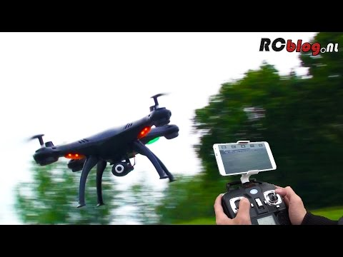 Syma X5SW Explorers Wi-Fi FPV Quadcopter video review (NL) - UCXWsfadxZ1qM0HKuPOx1ptg