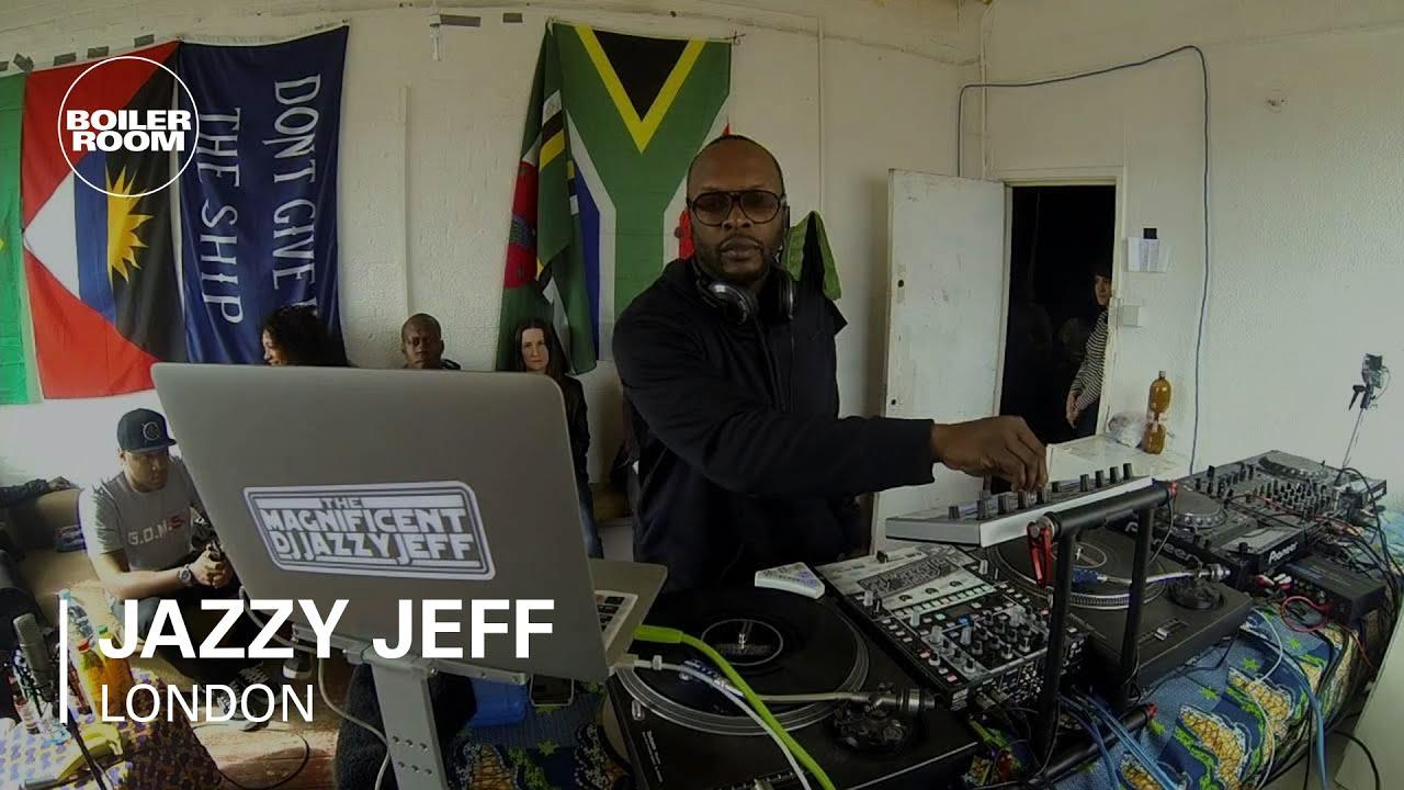 Dj Jazzy Jeff Boiler Room