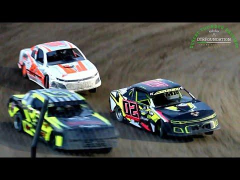 Desert Thunder Raceway IMCA Stock Car Main Event 6/25/21 - dirt track racing video image