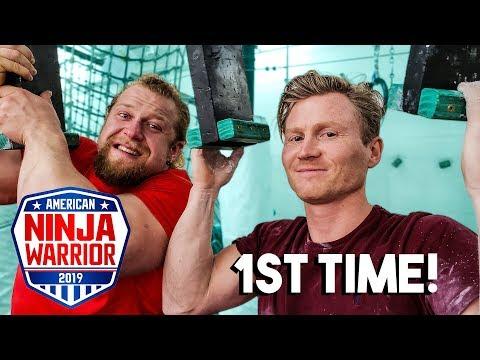 Pro Climber Tries Ninja Warrior *1ST TIME EVER* - UCgkzrMGEbZemPI4hkz0Z9Bw