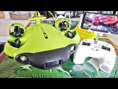 QYSEA FiFish V6 Underwater Drone ROV TREASURE HUNTER Review - Part 1 - Unboxing, Inspection & Setup - UCVQWy-DTLpRqnuA17WZkjRQ