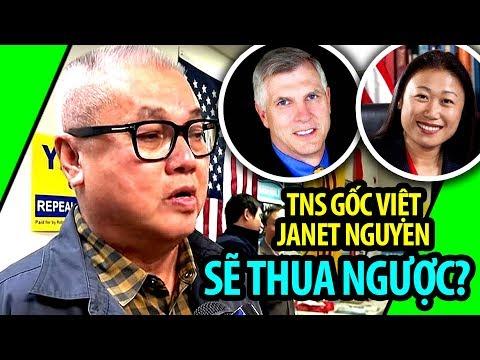 NÓNG: TNS tiểu bang gốc Việt Janet Nguyen có khả năng thua ngược đối thủ