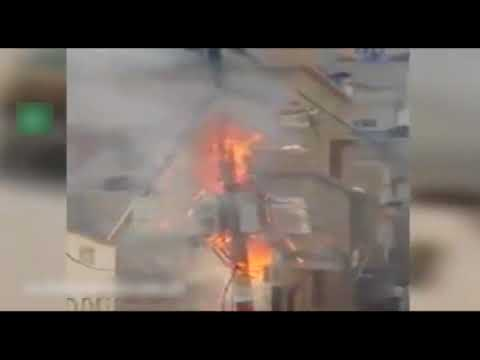 Electric Pole Catches Fire In North Nazimabad, Karachi