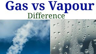 Gas vs Vapour | Difference