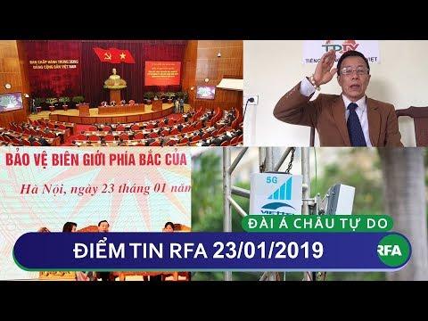 Điểm tin RFA tối 23/01/2019 | Giảm án 1 năm cho nhà báo độc lập Đỗ Công Đương