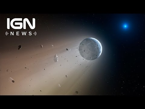 NASA's Kepler Finds Dead Star 'Devouring' a Mini Planet - IGN News - UCKy1dAqELo0zrOtPkf0eTMw