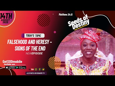 Dr Becky Paul-Enenche - SEEDS OF DESTINY - FRIDAY AUGUST 14, 2020