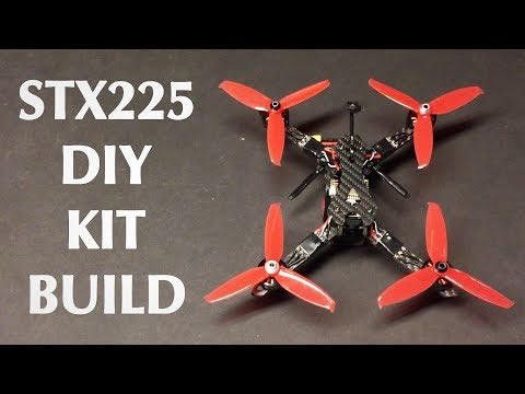 $99!!!   STX225 DIY Version FPV Racing RC Drone Kit - UC9l2p3EeqAQxO0e-NaZPCpA