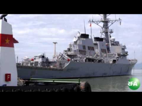 Video: Chiến hạm Mỹ  thăm Việt Nam