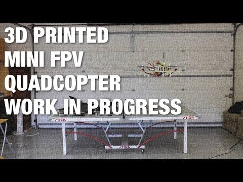 3D Printed Mini FPV Trainer Quadcopter - Work in Progress - UC_LDtFt-RADAdI8zIW_ecbg