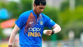 Indian team management decides to keep Navdeep Saini as cover for Test series againstWI