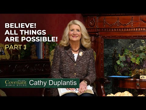 Voice of the Covenant Bible Study Part 7  Cathy Duplantis