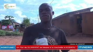 Côte d'Ivoire: Un Fan de DJ ARAFAT se blesse à la machette après l'annonce du décès de son idole