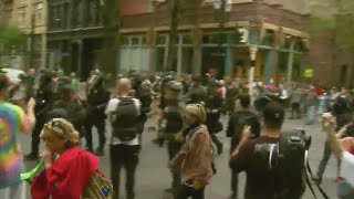 Portland protests now a 'civil disturbance'; at least 13 arrested