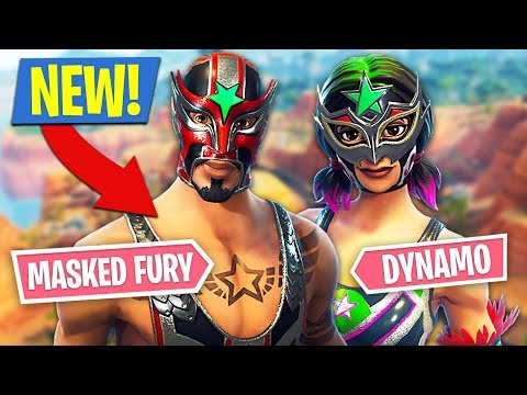 Fortnite *NEW* Masked Fury & Dynamo Skins!! (Fortnite Battle Royale) - UC2wKfjlioOCLP4xQMOWNcgg