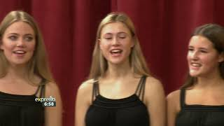 Herschel Girls' Choir sing Happy Birthday