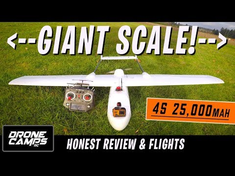 GIGANTIC LONG RANGE FPV PLANE! - Skyhunter 1800mm   Honest Review, Setup tips, & Flights - UCwojJxGQ0SNeVV09mKlnonA