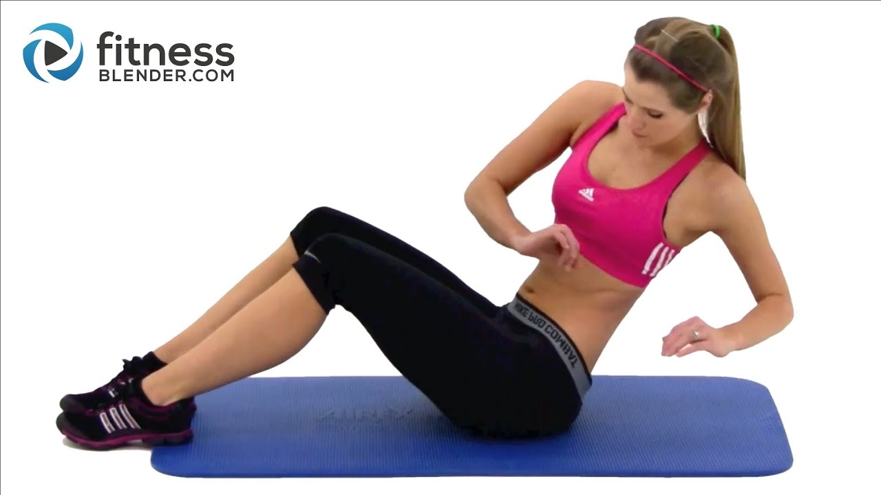 10 Min Abs Workout — At Home Abdominal and Oblique Exercises