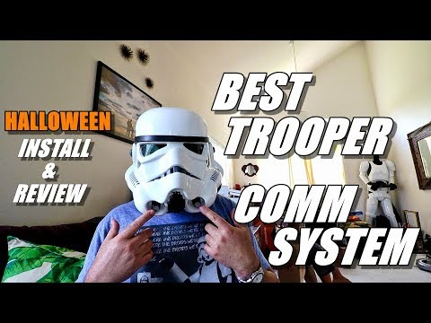 Best StarWars StormTrooper Helmet Voice/COMM System - 501st Legion UKsWrath's Kit Install and Review - UCVQWy-DTLpRqnuA17WZkjRQ