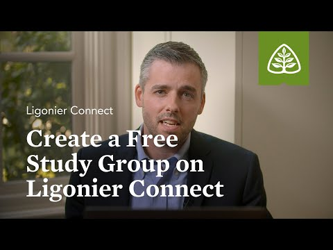 Create a Free Study Group on Ligonier Connect